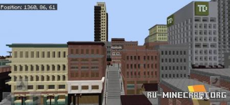 Скачать Hillsborough - New England City для Minecraft