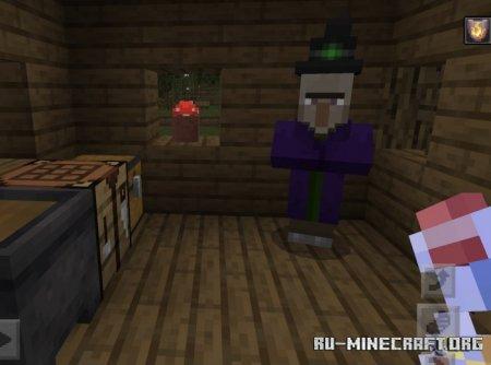 Скачать A Witchy Adventure для Minecraft PE