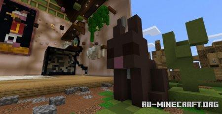 Скачать Mega House - Garden для Minecraft PE