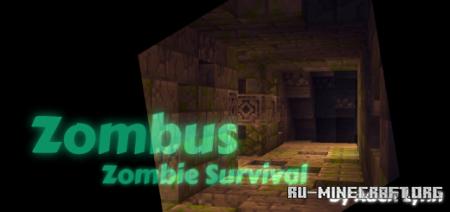 Скачать Zombus : Zombie Survival для Minecraft PE