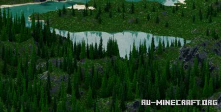 Скачать RPG map - 2.5k by 2.5k для Minecraft