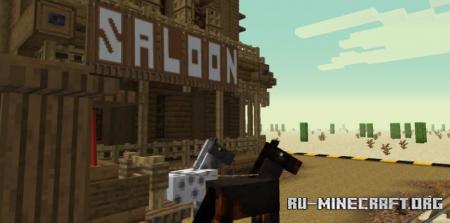 Скачать Old West by Krisuzinho для Minecraft