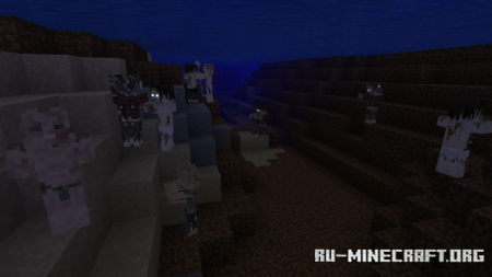 Скачать Better Zombie Pack для Minecraft PE 1.16