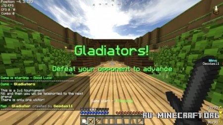 Скачать Gladiators (Minigame) для Minecraft PE