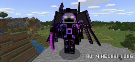 Скачать The Cyber Valkyrie для Minecraft PE 1.16