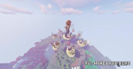 Скачать SkyPvp Map by BuilderAroundTheCorner для Minecraft