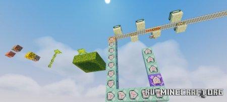 Скачать BeatSaber Parkour Gauntlet для Minecraft PE