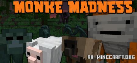 Скачать Monke Madness для Minecraft 1.16.5