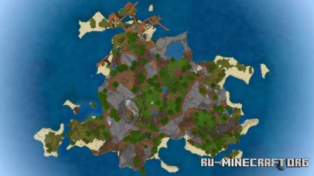 Скачать Adventure Island by Francoco48  для Minecraft PE
