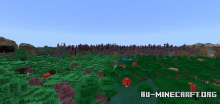 Скачать Fairly Purple Pack для Minecraft PE 1.16