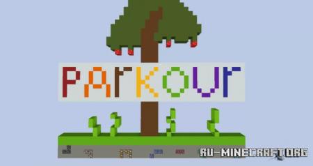 Скачать DC-Parkour - Go To The Heaven для Minecraft
