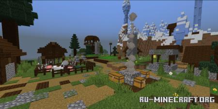 Скачать The Pillager Village для Minecraft PE