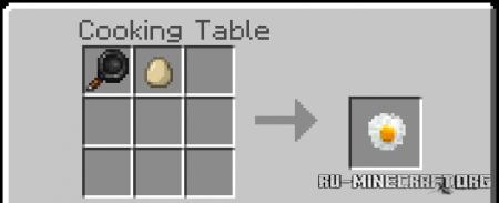Скачать Egg Foods для Minecraft PE 1.16