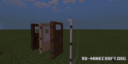 Скачать All Doors Have Windows для Minecraft PE 1.16