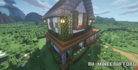 Скачать Farm House Zaypixel для Minecraft