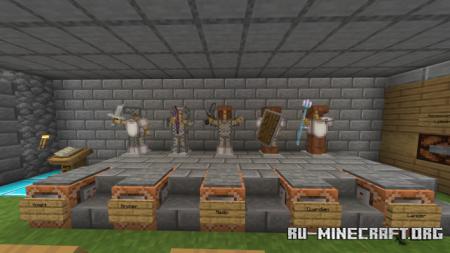Скачать Knights vs. Rogues для Minecraft PE