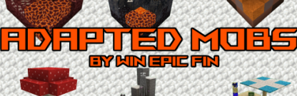 Скачать Adapted Mobs для Minecraft 1.17