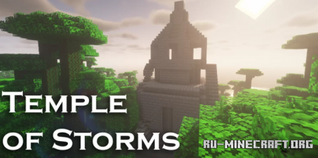 Скачать Temple of Storms by bengelatino для Minecraft