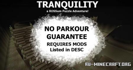 Скачать TRANQUILITY - A ROSSum Puzzle Adventure для Minecraft