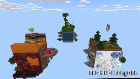 Скачать Skyblock: Cube Survival для Minecraft PE