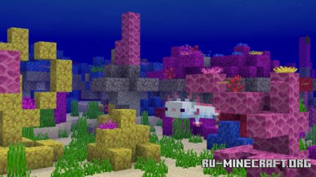 Скачать Ocean World Add-On для Minecraft PE 1.16