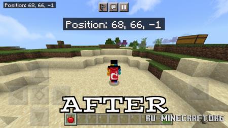Скачать Teleport Edibles для Minecraft PE 1.16