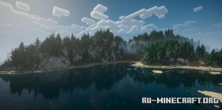 Скачать Ingvar's Isle - Nordic/Viking island для Minecraft