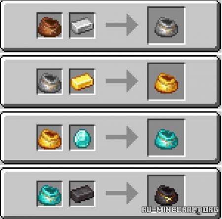 Скачать Iron Bundles для Minecraft 1.17