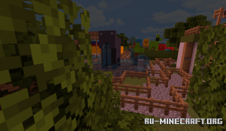 Скачать Thorpe Park and Legoland для Minecraft PE