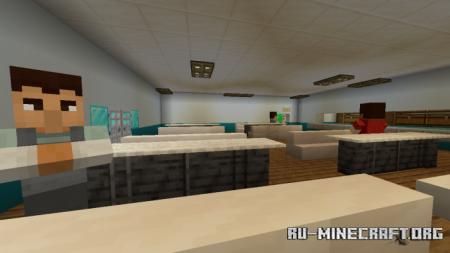 Скачать Escape Prison With Guards для Minecraft PE