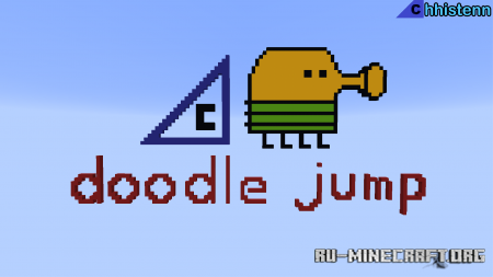 Скачать Doodle Jump by Chhistenn для Minecraft