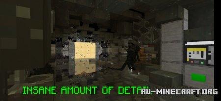Скачать Minecraft: Alien Isolation для Minecraft PE