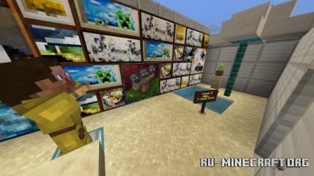 Скачать Parkour Sisistic для Minecraft PE