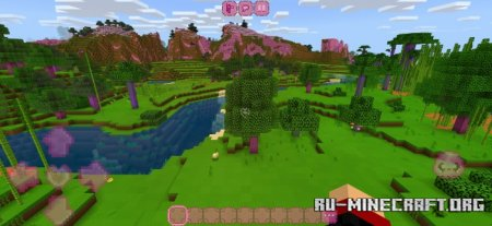 Скачать Kawaii World для Minecraft PE 1.17