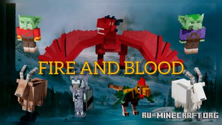 Скачать Fire and Blood для Minecraft PE 1.17