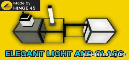 Скачать Elegant Light And Glass для Minecraft PE 1.17