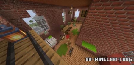 Скачать Parkour City by Zombie1111 для Minecraft