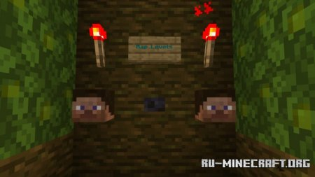 Скачать Green Parkour V0.1 by MrCreeperManYT для Minecraft PE