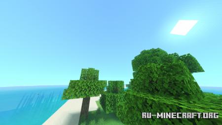 Скачать Salmon Shader для Minecraft PE 1.16