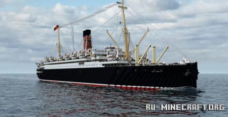 Скачать RMS Lancastria 1924 для Minecraft