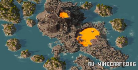 Скачать Pie Sea для Minecraft