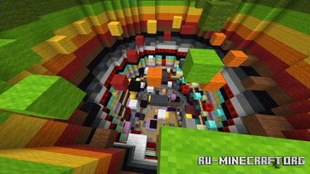 Скачать Tower of Parkour (Part 1) by OrigamiStudio для Minecraft PE