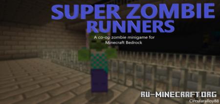 Скачать Super Zombie Run (V.3) для Minecraft PE