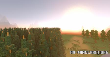 Скачать Forgotten Valley by Skyify для Minecraft PE