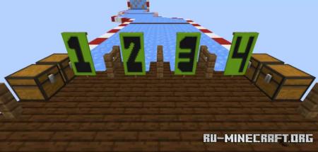 Скачать Rally Boat Race - Easy by Pahul7 для Minecraft
