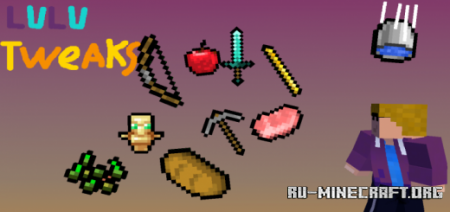 Скачать Black Outlines for Items [16x16] для Minecraft PE 1.17