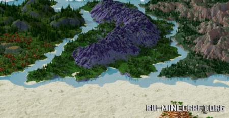 Скачать Ohall - Multibiome для Minecraft