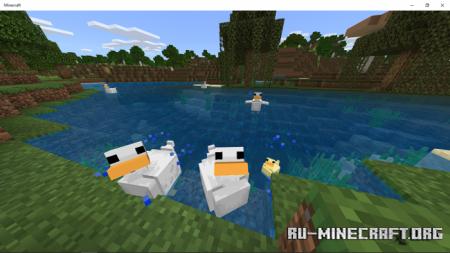 Скачать Duck Addon для Minecraft PE 1.17