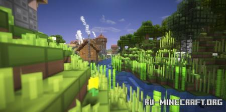 Скачать oCd Resource [16x] для Minecraft 1.17