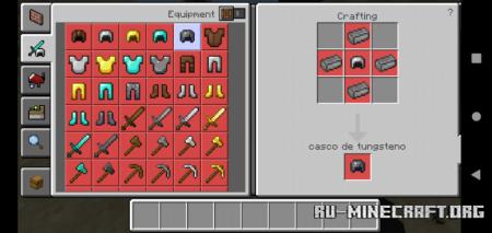 Скачать Reinforced Tools для Minecraft PE 1.17